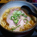 麺屋宗 - 麺屋宗 肉そば総本店(ときわ台) 肉まきそば(醤油) 750円