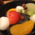 神戸風月堂カフェ - あんみつ