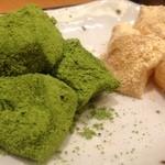 神戸風月堂カフェ - わらび2種