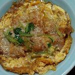辰の子食堂 - 煮込みカツ皿
