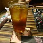 夜宴酒場 芭蕉 - ウーロン茶