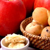 もと街びより - 料理写真:パンとバターの盛り合わせ・コースのパン(おかわり可)についてくる自家製りんごバター