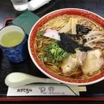 れすとらんやの - 最大ラーメン(麺3.5玉)