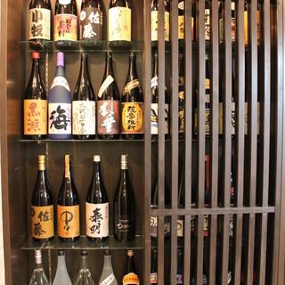 日本酒だけじゃない!本格焼酎もとにかくお得です!