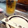 お好み焼き 赤坂 - 料理写真:樽生ビール中_550円