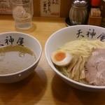 21386815 - つけ麺(大盛り)