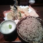 藪へゑ - 天せいろ¥1200  +大盛り(平日ランチ無料・通常¥100)