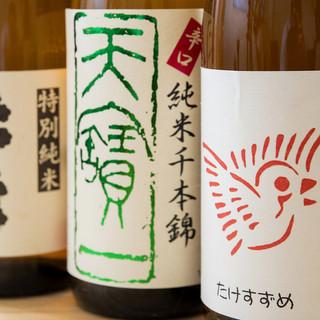 日本酒は鮮魚に合わせて