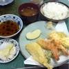 谷椿 - 料理写真:〈2013/09ランチ〉天ぷら定食(500円)