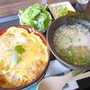リングリバー - 料理写真:玉子カツ丼セット
