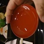 北新地 湯木 - 食前酒