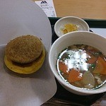 モスバーガー - 料理写真:ライスバーガーとトン汁