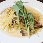 ラ・ロゼッタ - ポルチーニ茸のクリームソース