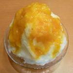 21411247 - あんず杏仁豆腐かき氷