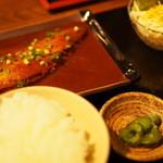 渋谷桜丘町 ろくよん - さば味噌定食 850円