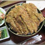 昭和軒 - かつ丼 (大盛)