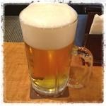 オーデン - 今日はお休み☆ 早めのカンパイ!( ^ ^ )/□ 暑いからビールがうまい♪