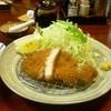 とんかつ みその - 料理写真:伊豆のもちブタを使ったロースカツ定食(並)