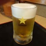 たち飲み 吟 - 生ビール:350円