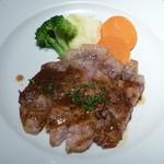 21431763 - 千葉県産「恋する豚」のグリル 粒マスタードソース