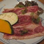 山形牛ステーキ&焼肉 かかし - 山形牛リブロースのかぶり:1400円