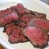 レストラン メテオ - 料理写真:お目当ての「ローストビーフ」です。これで3人分です。