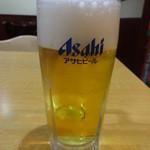 華宴 - 生ビール