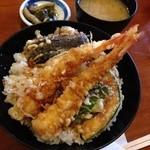 いけす料理 あき - 天丼