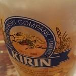 まさや - ビール、なんと200円!