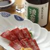 Shunsaishubouyumeakindo - 料理写真:熊本直送 特上馬さし 980円