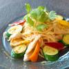 ポレポレ - 料理写真:チキンとズッキーニのパッタイ