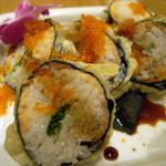 ディキシーダイナー - サーモン寿司ロールのフリット 680円