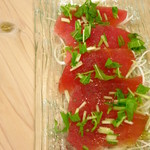 La さかな亭 - マグロのカルパッチョ580円