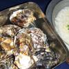 雷や - 料理写真:殻付きカキのカン缶焼き(かきの出汁で雑炊もうまい!)