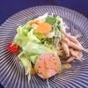 カフェルージュ - 料理写真:ランチ★サラダ&ワカサギのフリット&鴨肉のパテ
