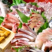 鮮魚お刺身7種の「桶盛」