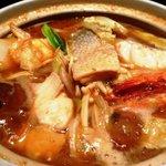 安美 - 海鮮ちゃんこ味噌味