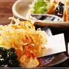 楽喰 - 料理写真:天婦羅と日本酒