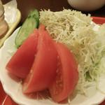 coffee shop KAKO  - プレートセットのグリーンサラダ