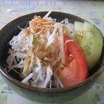 松末亭 - 野菜サラダ