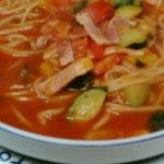 カンパニョーラ - トマトスープスパゲティー
