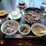 21524592 - 重慶式麻婆豆腐セット