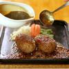 万葉楼 - 料理写真:ほわほわダブルハンバーグステーキ300g
