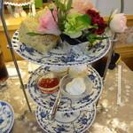 アリスの茶屋 - アフタヌーンティーセット