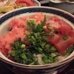 いちば鮮太郎 - 葱トロまぐろ丼