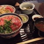 いちば鮮太郎 - 葱トロまぐろ丼定食