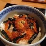 さわん - 網地丼(ウニ、イクラ丼) 1,000円
