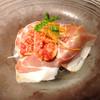 トラットリアチンクエポンテ - 料理写真:イチジクと生ハムの前菜
