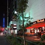 ブラッセリー・ヴァトゥ - 東京タワーとテラス→