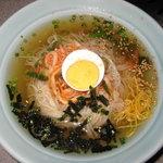 焼肉 慶松苑 - 慶松苑の冷麺